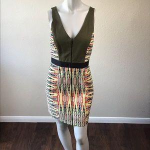 Rachel Roy V Neck sleeveless Dress